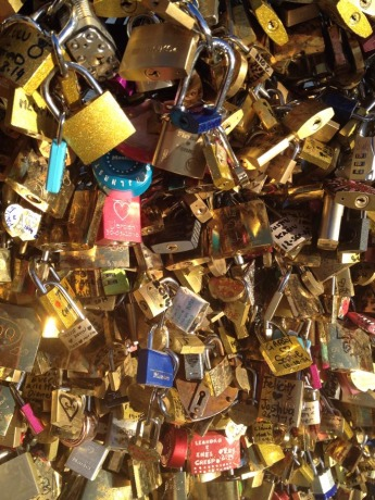 Locks of Love Pont des Arts