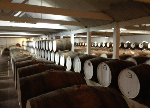Seppeltsfield Cask Room